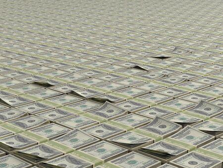 money packs: infinite field of money packs