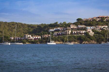 View of the gulf of Marinella  Sardinia, Italy