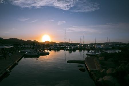 rotondo: Seaport in Porto Rotondo, Sardinia, Italy