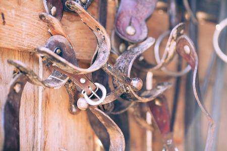 equitation: Picture of equitation equipment.