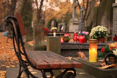 cemetery Standard-Bild