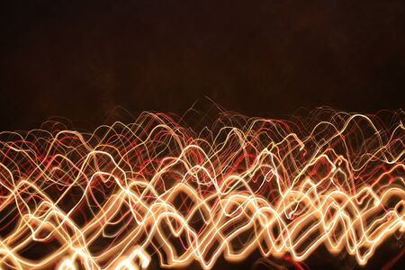 scrawl: irregular lights Stock Photo
