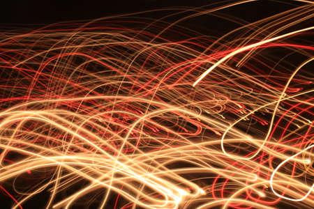 garabatos: luces irregulares