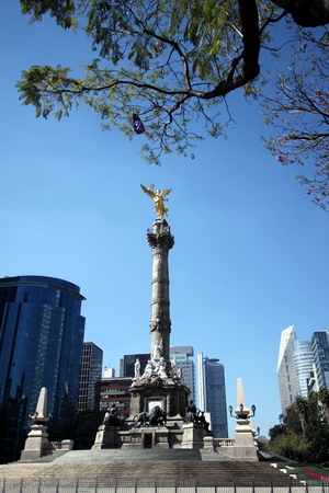 angel de la independencia: mexico ciudad