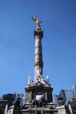 angel de la independencia: mexico ciudad