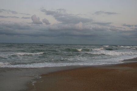 evening waves photo