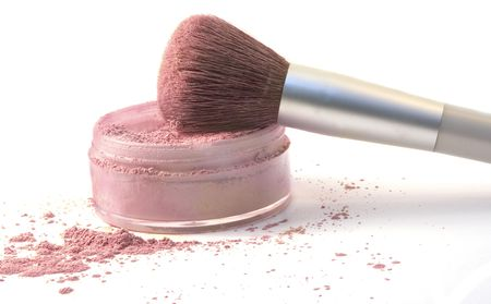 Make-Up Brush in Blush Powder