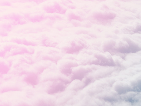 Soft focus pastel clouds for background, ultraviolet, heaven and dream concept, bright sweet sky, cloud textures