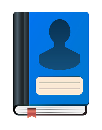address book icon Illustration