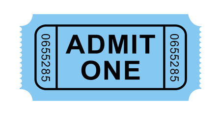 Vector Admission Ticket Vector