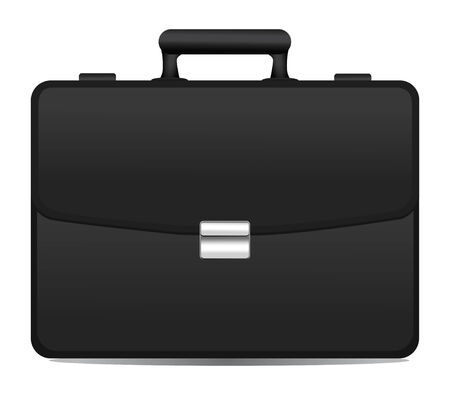 black briefcase icon Vector