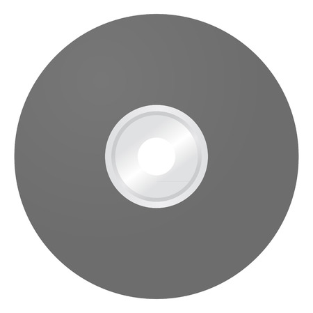 blank cd template Vector