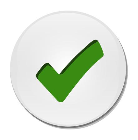 check mark button   Vector
