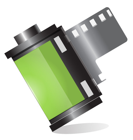 film roll Vector