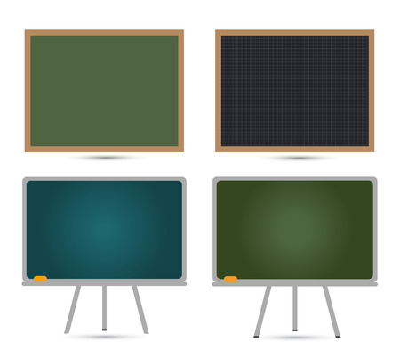 Green School Board Vector