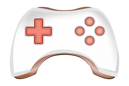 Game pad vector Vector
