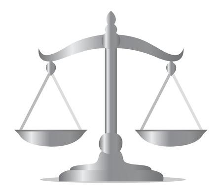 vector balance scale