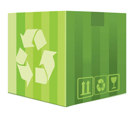 Green Box Vector