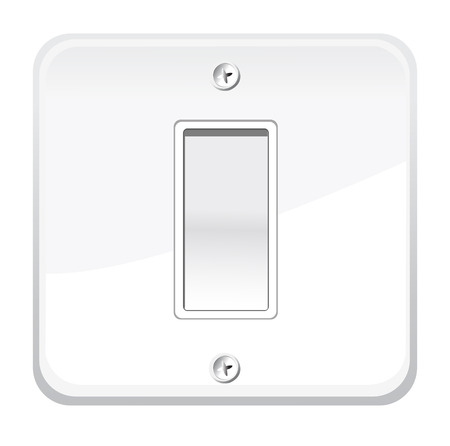 OnOff switch. Vector illustration Vector