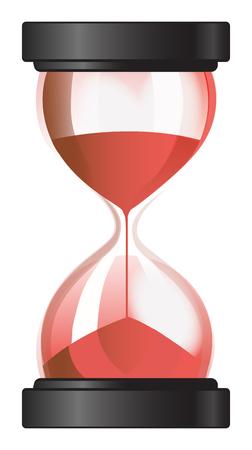 sand clock: Reloj de arena reloj de arena Vectores