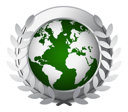 world award icon Vector