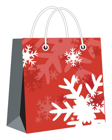 christmas bag Vector