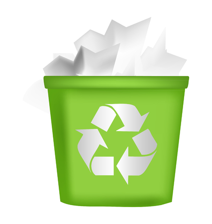 recycling bin icon Vector