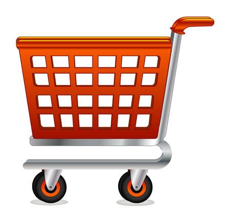 Vector shopping cart Vector