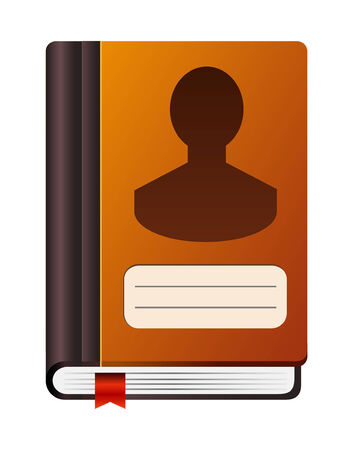 address book icon Vector