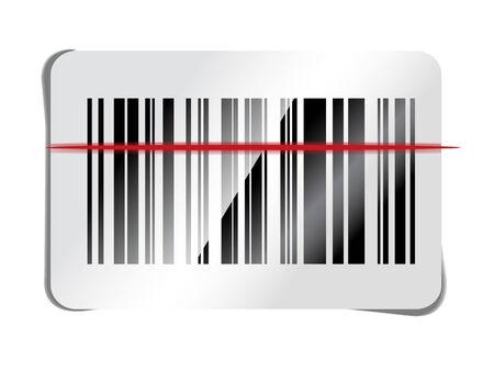 barcode scan: icono de escaneo de c�digo de barras Vectores