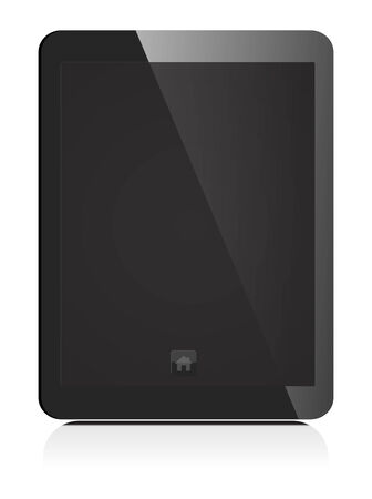 blank screen tablet Vector