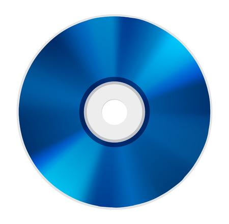 blue ray disc icon Illustration