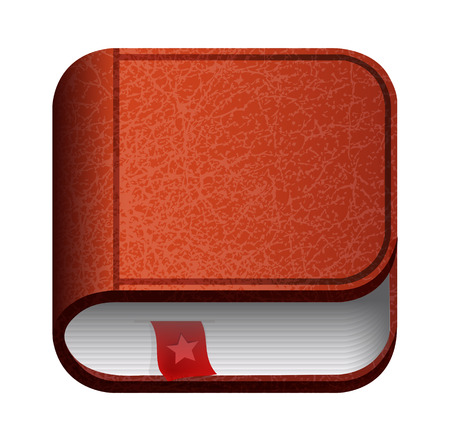 Illustration of  book icon Vector