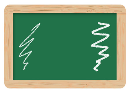 education board, Learning Green Board Vector