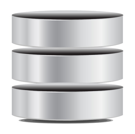Vector Database Icoon