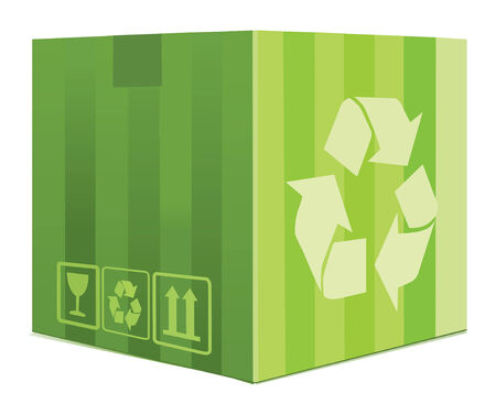 Green Box Vector
