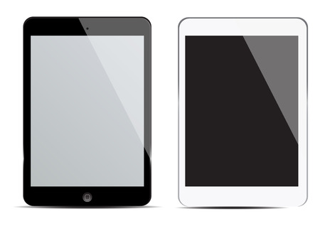 blank tablet: blank screen tablet