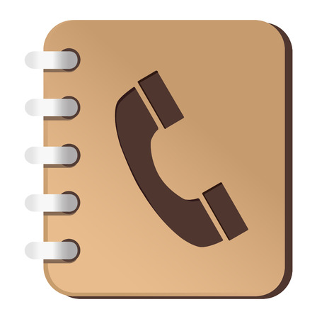 phone book Vector