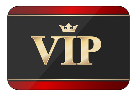 vip card icon Vector