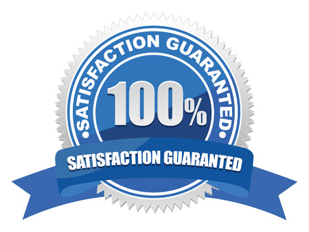 customer satisfaction: guarantee seal