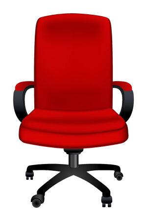 sedia ufficio: vector sedia da ufficio Vettoriali