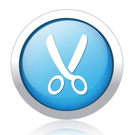 Scissors. Vector icon Stock Vector - 26656956