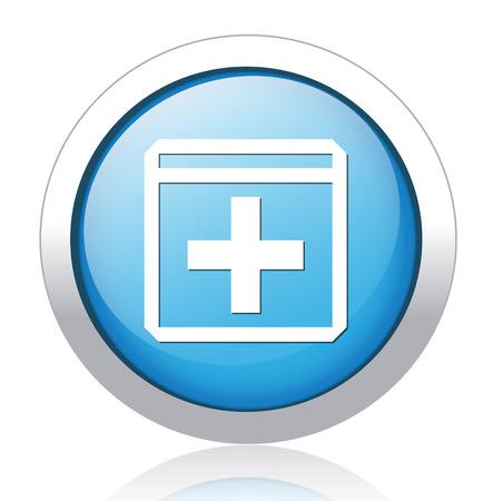 add button Vector