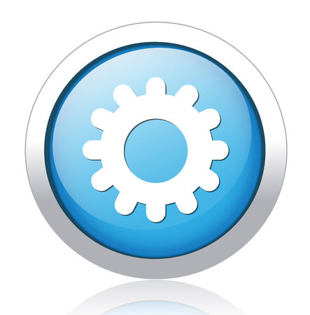 Setting single button for use Illustration
