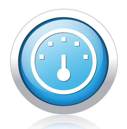 Speedometers button Vector