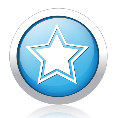 super cross: Star favorite web icon