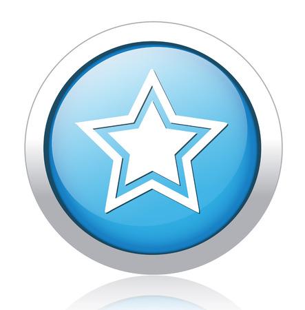 addendum: star icon Illustration