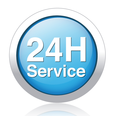 24 hours: Service and support  24 hours a day and 7 days