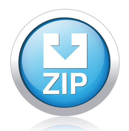 Zip file icon Stock Vector - 26699550