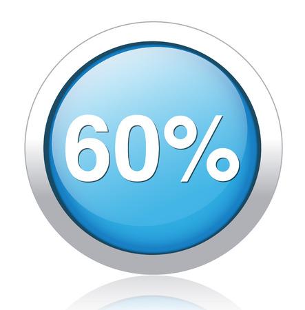 60: 60 por cento